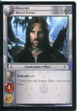 Lord Of The Rings CCG Card TTT 4.C109 Aragorn, Heir Of Elendil