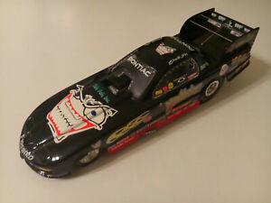 RACING CHAMPIONS 2001 DALE CREASY JR NITROMANIAC PONTIAC FIREBIRD FUNNY CAR 1:24