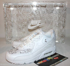 Nike Air Max Con 90 Laser NYC 2016 White Clear Box Sneakers Men's Size 7 New