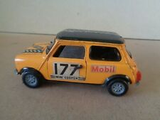 Politoys no.582 Mini Cooper Rally Car For Restoration , 1:25 Scale Diecast