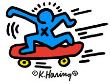 Keith Haring SKATEBOARDER 11x14 Giclee Pop Art Print **SALE