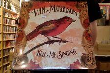 Van Morrison Keep Me Singing LP sealed vinyl standard cover