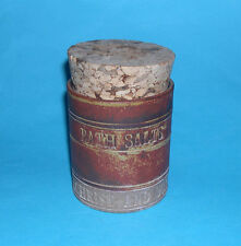 Robin Welch Studio Pottery - Attractive Cylinder Bath Salts Canister - M/Mark.