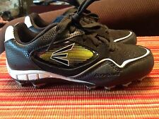 "Easton ""V-R-S"" Dura Guard Unisex (2Y) Black & Gold Cleats ""Ebwc"""