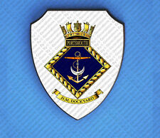H.M PORTSMOUTH DOCKYARD WALL SHIELD