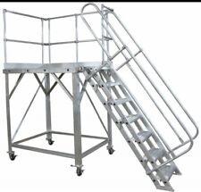 More details for aliminuim rolling work platform 1500 x 1500 & 3600mm high