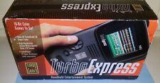 Turboexpress PC-Engine GT REGION FREE RECAP HES-EXP01 Turbografx BOX CIB ● 3 HU