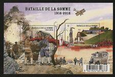 FRANCE 2016 Bloc Feuillet  F 5075  BATAILLE DE LA SOMME NEUF**LUXE