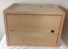 Seletti Export Collection Secretaire Wooden Crate Chest Trunk Furniture Italy