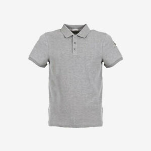 Moncler Polo Shirt with Printed Under-Collar - Grey