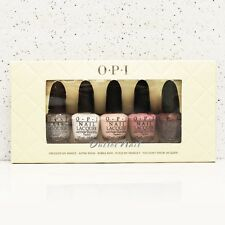 O.P.I MINI Nail Lacquer Set 5 pieces - Take Ten Nudes Colors 2013 OPI Kit