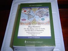 """""""NEW"""" BIG HISTORY: THE BIG BANG LIFE ON EARTH RISE OF HUMANITY THE GREAT COURSES"""
