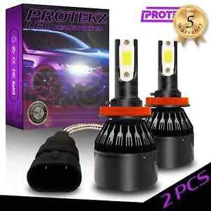 Protekz LED Headlight Kit High Beam H7 6000K for 2017-2019 Land Rover Discovery