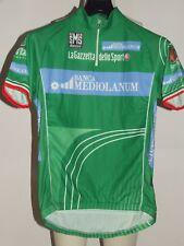 MAGLIA BICI CICLISMO SHIRT MAILLOT CYCLISM VERDE GIRO D'ITALIA SANTINI tg. L