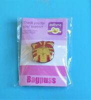 Bagpuss sparkly Head stud pin badge charity