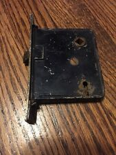 Skeleton Key Latch And Lock Assembly Rust Patina With No Key Vintage