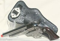 Metal Cap Gun and Holster BRAND NEW High Quality Set with Belt 10012