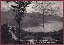COMO CIVENNA 07 SOMMAGUGGIA - LAGO Cartolina FOTOGRAFICA viaggiata 1948