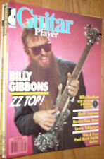 Guitar Player March 1986 Billy Gibbons ZZ Top
