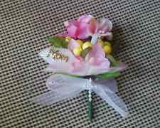 Handmade Silk Corsages or Boutonnieres