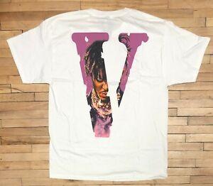 Vlone X Juice WRLD T Shirt Size M Club 999 Legends Never Die