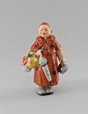 Porcelaine Figurine Wakouwa Moine Ens Thuringe, allemagne H 18 cm a7-97013