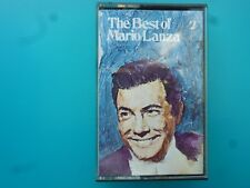 "MARIO LANZA  "" THE BEST OF MARIO LANZA ""  CASSETTE"