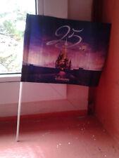 fanion drapeau 25éme disney cast member disneyland paris 25 ans anniversaire