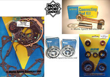 Honda CR 250 05-07 Mitaka Bottom End Engine Rebuild Kit Rod Mains Gasket Seal