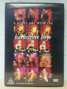 A Night Out With The Backstreet Boys DVD - Rare 1998 Concert