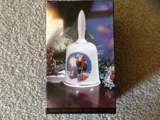 "Harley Davidson 1994 Christmas Bell ""Santa's Predicament"" New In Box"