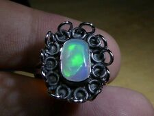 Natural Untreated Opal Gem Ring
