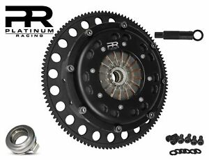 PR TWIN DISC CLUTCH KIT FOR 94-01 INTEGRA HONDA B-SERIES B16 B18 B20 DRAG RACE