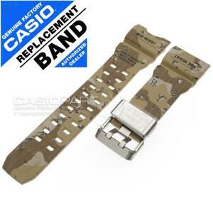 Genuine Casio Brown/Tan Camo Watch Band Strap - G-shock Mudmaster GWG-1000DC-1A5