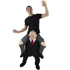 Vladimir Putin Piggyback Costume Russian President Ride On Halloween Fancy Dress