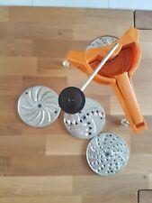 rape legumes  moulinex  vintage orange