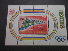 INDONESIA MNH 743c OLYMPIC SPORT MEXICO