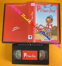 VHS film PINOCCHIO a cartoni animati COPIA OMAGGIO animazione (F130) no dvd