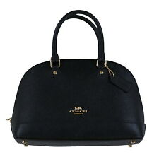 Coach F27591 Mini Sierra Satchel - Black/Light Gold