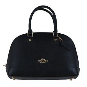 Coach Purse Mini Sierra Satchel Handbag Optional Crossbody Strap Adjustable New