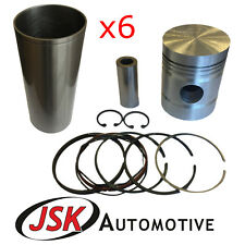 88.92mm Pistons Cylinder Liners Pins Rings for Fordson Major E27N Perkins P6