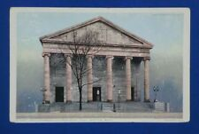 Vintage Phostint  Postcard Cathedral Church of St Paul Boston MA USA