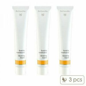 3 PCS Dr. Hauschka Cleansing Cream 50ml x3= 150ml Skincare Cleansers NEW #9291_3