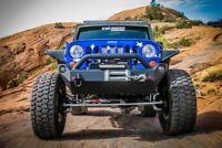 OR-Fab   Mid Width Winch Ready Front Bumper for 07-18 Wrangler JK