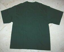 NWT Men's CHAMPS Sports SS Crewneck Cotton T-Shirt Green - XL (see measurements)
