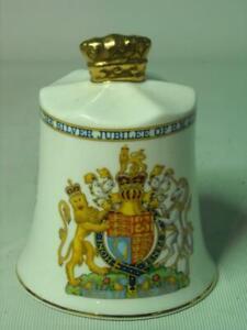 Aynsley QUEEN ELIZABETH II SILVER JUBILEE Bell England's Kings and Queens