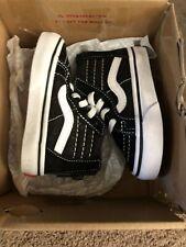 Vans Sk8-Hi Zip Black/White 4.0 Toddler Shoes/Sneakers