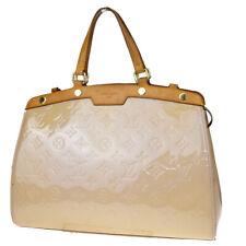 Authentic LOUIS VUITTON Brea MM Hand Bag Monogram Vernis Leather M90068 39MD151