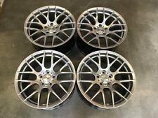 "19"" STROM M359 deep concave wheels HYPER SILVER BMW E90 E91 E92 E93 3 Series"