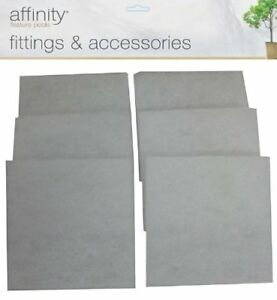 BLAGDON AFFINITY SIX PACK WINDOW CLEANING PADS FISH POND OCTAGON HALF MOON